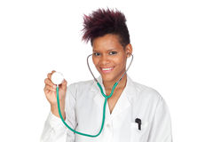 Exotic medical girl Royalty Free Stock Photography