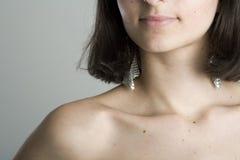 Exotic Model Studio Shot Stock Images