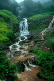 Exotic monsoon waterfall Stock Image