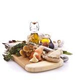 Exotic Mushrooms Stock Image