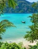 Exotic paradise bay Phuket, Thailand Royalty Free Stock Image