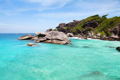 Exotic paradise beach Royalty Free Stock Photography