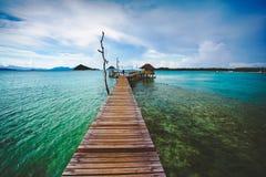 Mak island Koh Mak. Exotic Paradise, Travel, Tourism and Vacations Concept, Tropical Resort, Mak island Koh Mak Trat Thailand royalty free stock image