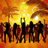 Exotic Party stock illustration