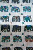 Exotic patchwork. Patterned fabrics, Turkey Stock Photos