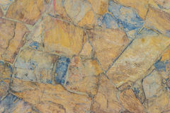 Exotic pattern of decorate slate stone wall background. Abstract Stock Images