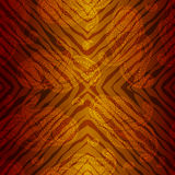 Exotic pattern with doodles paisley Royalty Free Stock Images