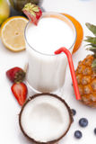Exotic Pina Colada Royalty Free Stock Photo