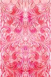 Exotic pink flourishes abstract Stock Photos