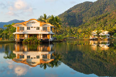 Exotic place in island Koh Chang Stock Image