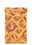 Exotic print on red box. Royalty Free Stock Images