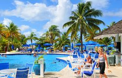 Exotic resort stock photos