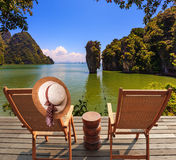 Exotic rest in Thailand Royalty Free Stock Image