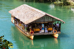 Exotic river cruise in Bohol Philippines Royalty Free Stock Photo