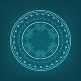 Exotic round ornament Royalty Free Stock Photo