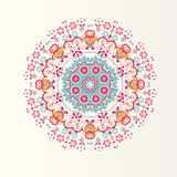 Exotic round ornament Royalty Free Stock Image