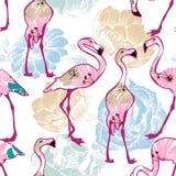 Exotic seamless pattern Stock Photos