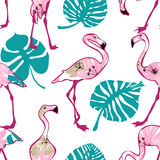 Exotic seamless pattern Stock Photo