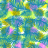 Exotic seamless tropical pattern. Stock Photography