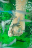 Exotic small fishes I do a peeling of feet Stock Photo