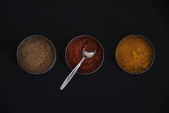 Exotic spices Stock Images
