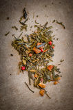Exotic tea vignette Stock Images
