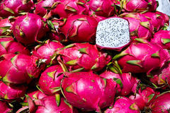 Exotic Thai Fruit. Dragon fruit Royalty Free Stock Image
