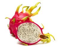 Exotic Thai Fruit. Dragon fruit - Geow Mangon. Royalty Free Stock Photos