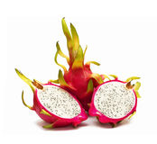 Exotic Thai Fruit. Dragon fruit - Geow Mangon. Stock Images