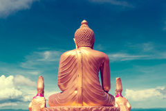 Exotic travels and adventures .Thailand trip.Buddha and landmarks Royalty Free Stock Image
