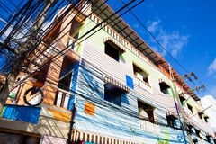Exotic travels and adventures .Thailand trip.Phuket houses Stock Photo