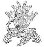 Exotic tropical crab Royalty Free Stock Photo