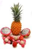 Exotic tropical fruits Stock Photos