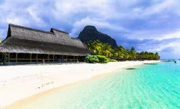 Exotic tropical holidays - Mauritius island Stock Photo