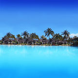 Exotic Vacation Resort in Mauritius - Africa Royalty Free Stock Images