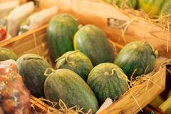 Exotic watermelons Royalty Free Stock Photography