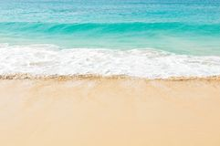 Exotic waves in Cape Verde. Close up of exotic waves in Boa Vista, Cape Verde, Africa Stock Image