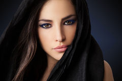 Exotic woman beauty Royalty Free Stock Images
