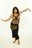 Exotic woman dance Stock Photography