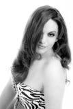 Exotic Woman Portrait Stock Image