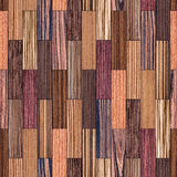 Exotic Wood Various Pattern Royalty Free Stock Photography