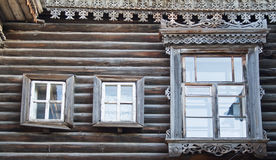 Exotic wooden building Stock Photos