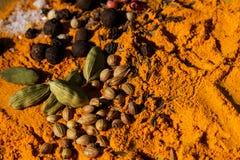 Exotically Spice Mix Stock Photos