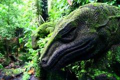 Exotisch bos van Bali Royalty-vrije Stock Fotografie