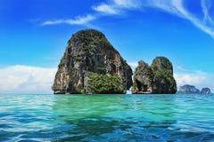 Exotisch landschap in Thailand Stock Foto's