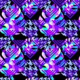Exotisch naadloos tropisch patroon vector illustratie