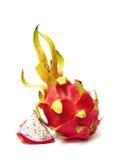Exotisch Thais Fruit. Het fruit van de draak - Geow Mangon. Royalty-vrije Stock Foto's