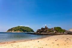 Exotisch tropisch strand Stock Afbeeldingen