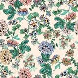 Exotische bloemen op lichte achtergrond Royalty-vrije Stock Afbeelding
