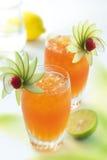 Exotische cocktail Royalty-vrije Stock Afbeeldingen